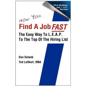 how you find a job FAST book cover